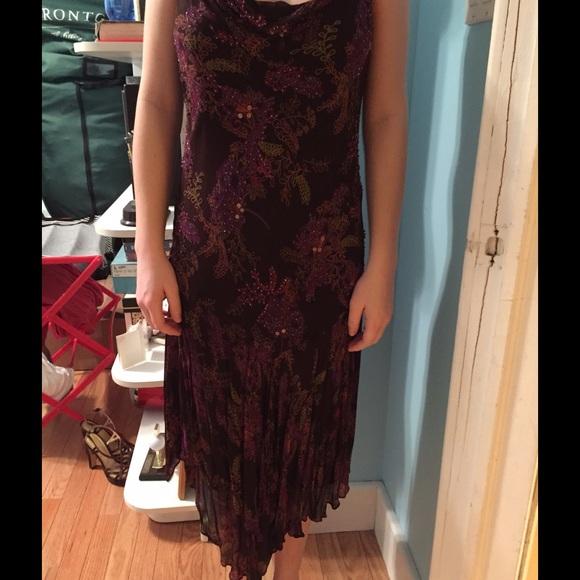 Dresses & Skirts - Brown floral dress