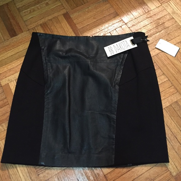 49 bb dakota dresses skirts bb dakota leather