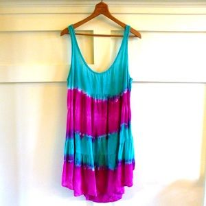Blumoon Dresses & Skirts - ⛔️BUNDLED⛔️Planet Blue Blumoon tie dye dress