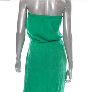 907fe720b2 Dresses | Coco Bianco Green Bandeau Swimsuit Cover Up Dress | Poshmark