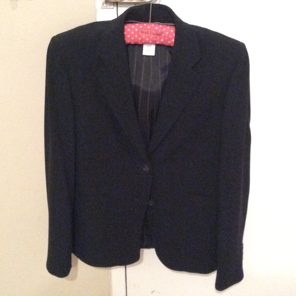 J. Crew Jackets & Blazers - J crew classic black wool blazer size 2