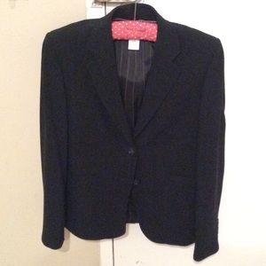 J. Crew Jackets & Coats - J crew classic black wool blazer size 2