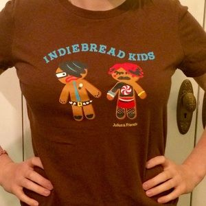 Julius Other - Rare ironic Indie bread kids Julius tee shirt M-L