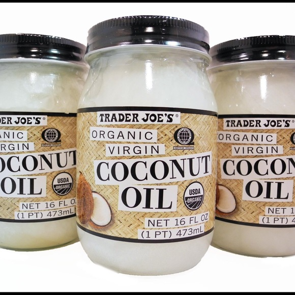 Trader joes 3 organic coconut oil jars from aria 39 s for Trader joe s fish oil