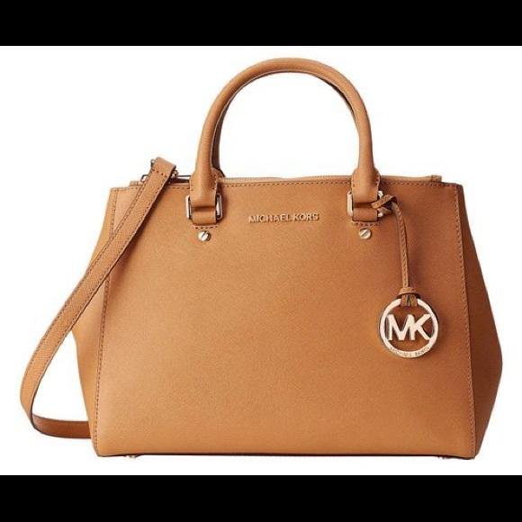 0877c45d93f4d Michael kors brown sutton bag