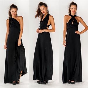 """Pandora's Box"" Multi Wear Maxi Dress"