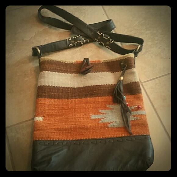 Leather Carpet Bag Raj Leather Carpet Bag