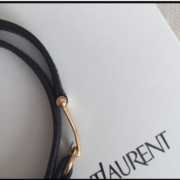 ysl messenger bag black - Yves Saint Laurent - Ysl double wrap bracelet from Johanna's ...