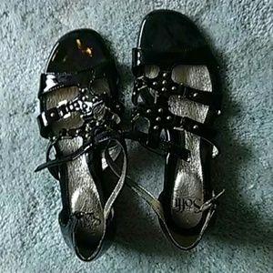 Sofft women's black sandals