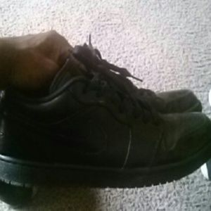 Jordan Shoes - All Black Low Top Jordan 1 s dae880eb26c8