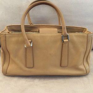 Coach camel leather purse