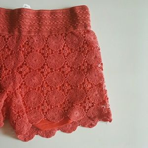 Pants - Crochet shorts -XL