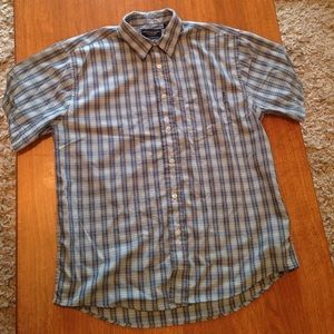 American Eagle Outfitters blue button up