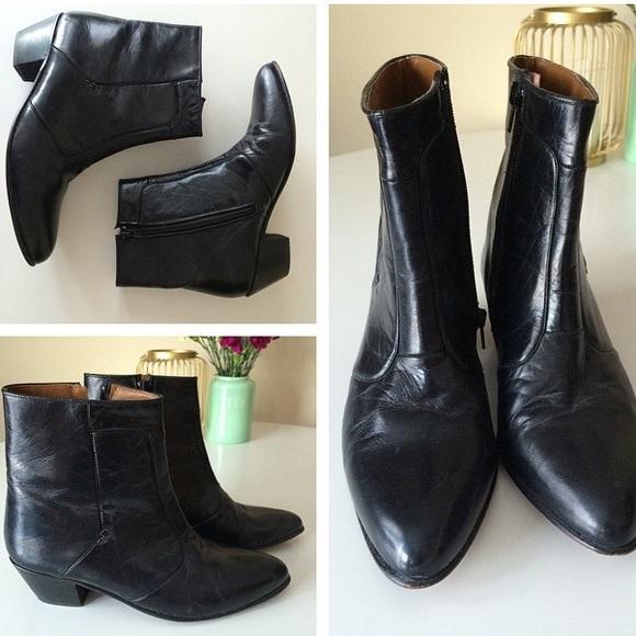 Vintage Chelsea Boots Mens 7 Womens 85
