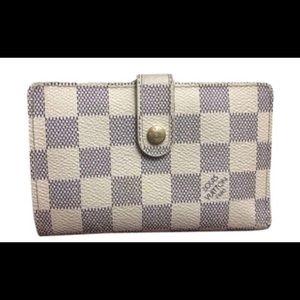 Louis Vuitton Damier Azur French Wallet