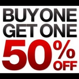 All shoes and dresses bogo!