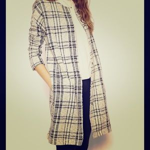 ASOS Jacket in Longline and Check