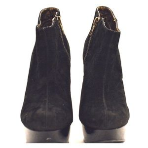 Steve Madden suede ankle boots