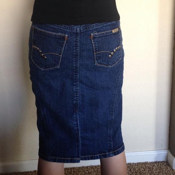 82 dresses skirts denim pencil skirt from tamra s