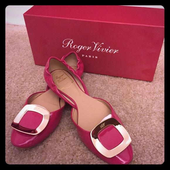 roger vivier pink shoes