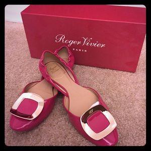 c3a253cb6f7 Roger Vivier Shoes - Roger Vivier Ballerine Chips pink size 37 1 2