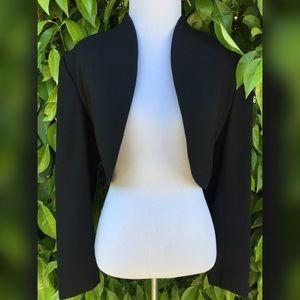 A.J. Bari Jackets & Blazers - Black Cropped Blazer