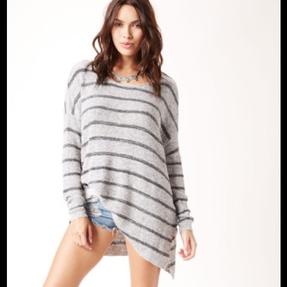 24% off Free People Sweaters - RESERVED Free people striped tunic ...