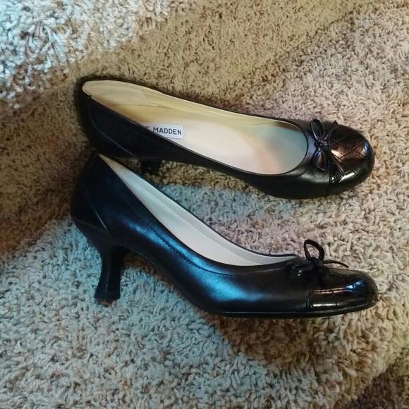88 steve madden shoes steve madden black kitten