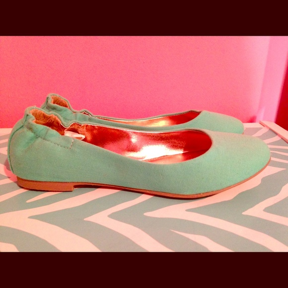 Mossimo Supply Co. Shoes - Turquoise flat