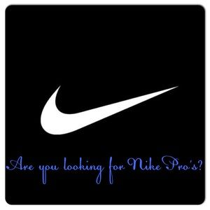 Looking for Nike Pro's? NEW ONES LISTED!
