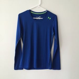 71 off under armour tops white under armour dry fit for Under armour dri fit long sleeve shirts