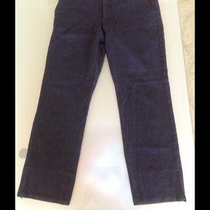 Dolce & Gabbana Charcoal wool slacks pants 48 8