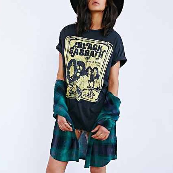 Urban Outfitters Dresses Black Sabbath Tee Dress Poshmark
