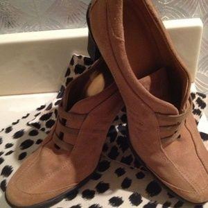 HOGAN (Top ITALIAN BRAND) Shoes - AUTHENTIC HOGAN SUEDE Ankle BOOTS w/BLK PLATFORM