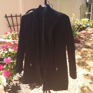Anne Klein black coat