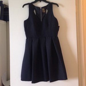 NEWLY-REDUCED Taylor little black dress w/ cutouts