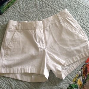 "NEWLY-REDUCED J.Crew NWT 5"" White Chino Shorts"
