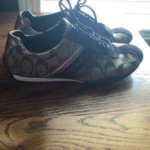 Coach shoes, brown