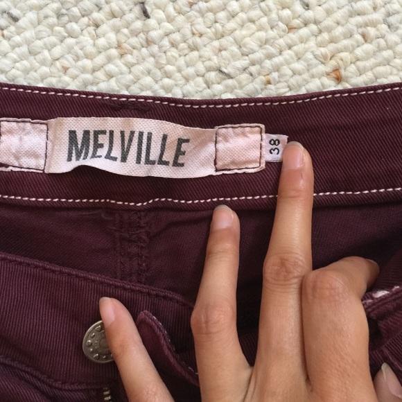 Brandy Melville Shorts - Burgundy Brandy Melville shorts