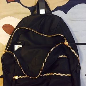 88e2cb8a31 Marc by Marc Jacobs Bags - Marc by Marc Jacobs Black Backpack w Gold Zipper