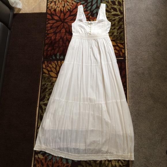 fcd05c9bb3 Dresses   Skirts - FINAL PRICE! Boho romantic White dress cotton.