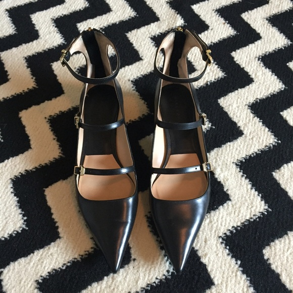 Zara Shoes - Zara Black Flats Size 40
