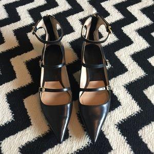 Zara Shoes - Zara Black Flats Size 40