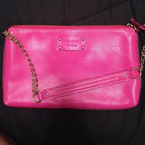Kate Spade Wellesley Byrd pink handbag