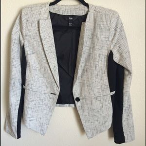 Wossimo Jackets & Blazers - Wossimo black and grey blazer