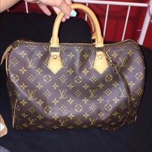 "Authentic Louis Vuitton ""Speedy"" 35"