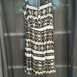 Tribal print dress (: