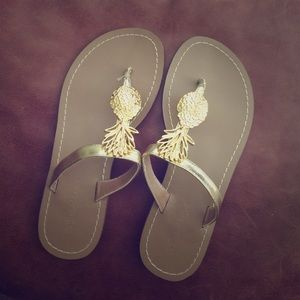Lilly Pulitzer for Target Shoes - NWOT Lilly for Target Pineapple Sandals