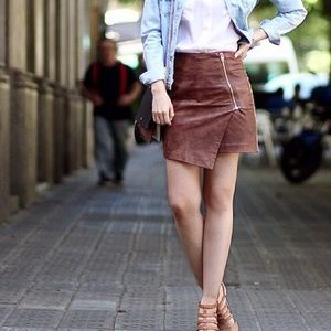 H&M Dresses & Skirts - H&M Brown Skirt