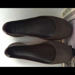 1af37553d16c2c crocs Shoes - Dark espresso brown Marnie Crocs ballet flats 8